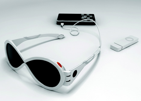 Solar-panel Sunglasses