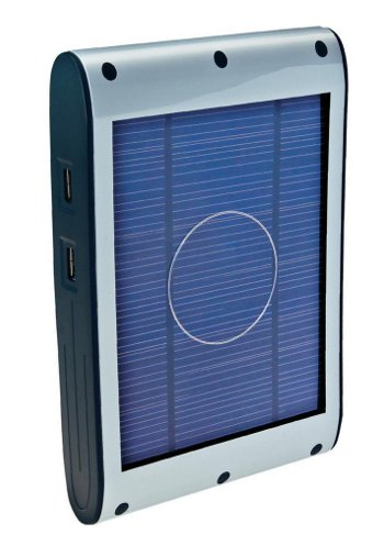 Solar Powered Battery