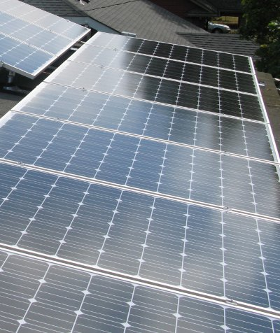 Solar power and homes