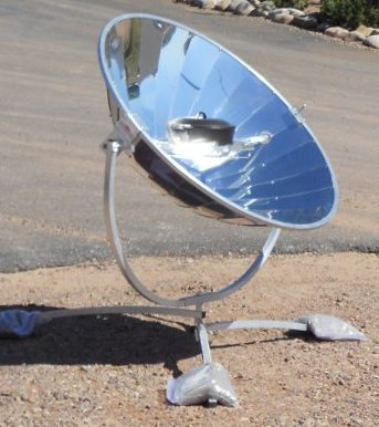 Solar powered oven